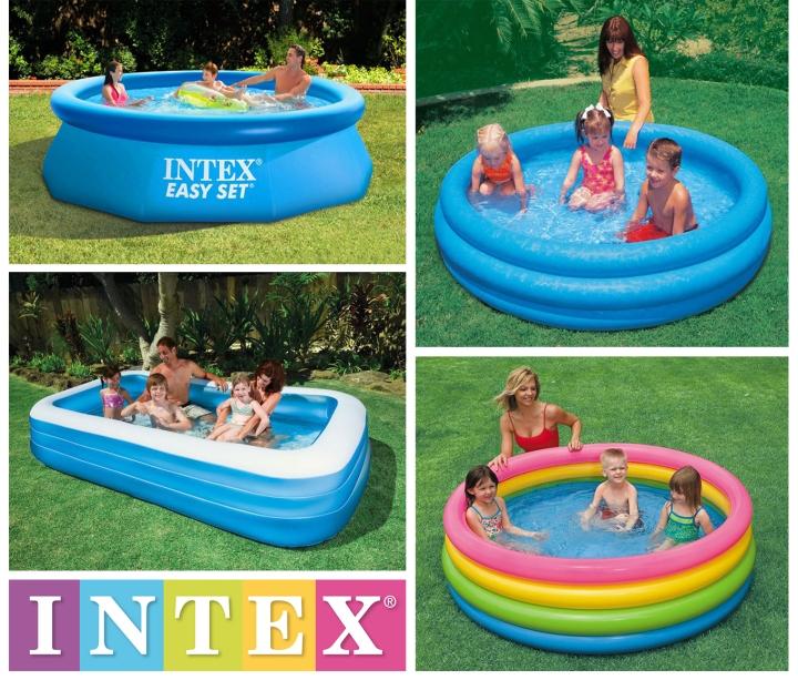 สระน้ำเป่าลม Intex